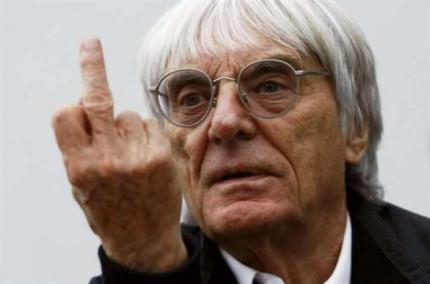 Bernie Ecclestone heeft geen boodschap aan kritiek.