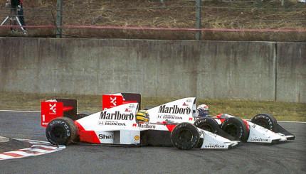 Prost vs. Senna McLaren