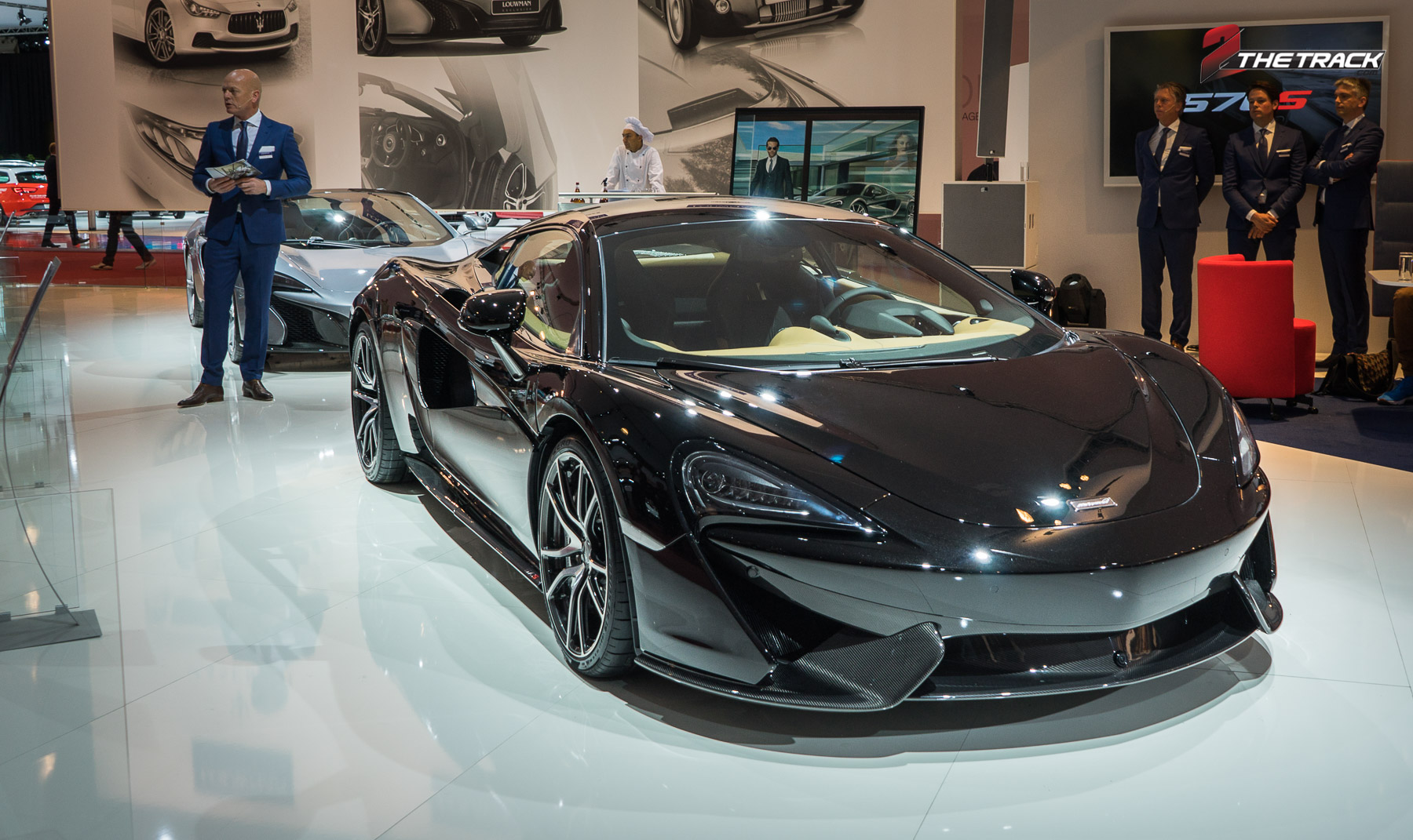 Europese premiere McLaren 570S op AutoRAI