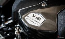 Museo Lamborghini - Lamborghini LP700-4 Aventador V12 Engine