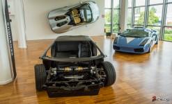 Museo Lamborghini - Lamborghini LP700-4 Aventador Monocoque