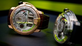HYT H1 Titanium and Pink Gold