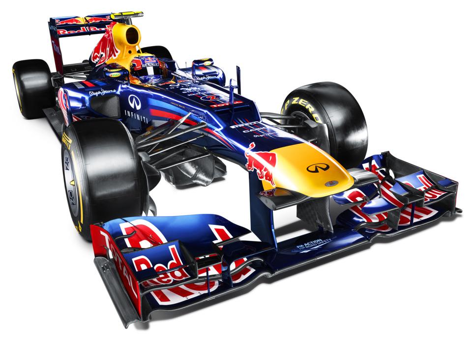 2012 Red Bull Racing F1 auto