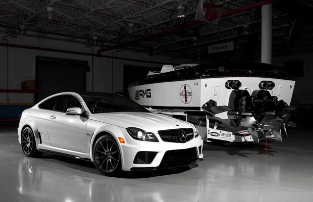 Mercedes-Benz C63 AMG Black Series inspired Marauder Cigarette-Yacht
