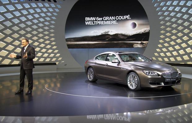 BMW 6er Gran Coupe presentatie Norbert Reithofer