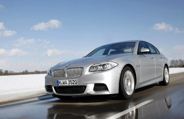 BMW M550d X-Drive
