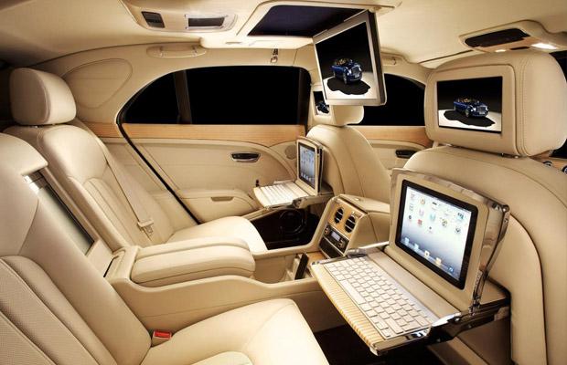 Bentley Mulsanne Theatre en iPad Interior Specification