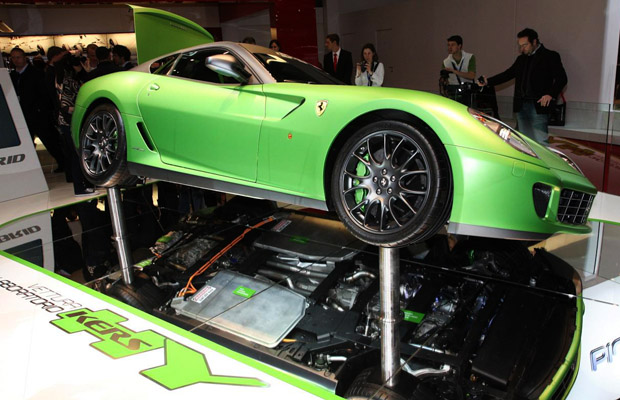 Ferrari 599 HY KERS vettura laboratorio