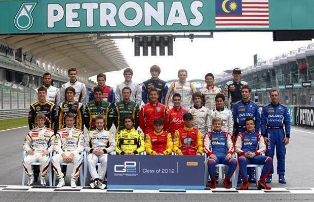 GP2 drivers for 2012