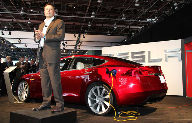 Tesla Motors Model S Elon Musk