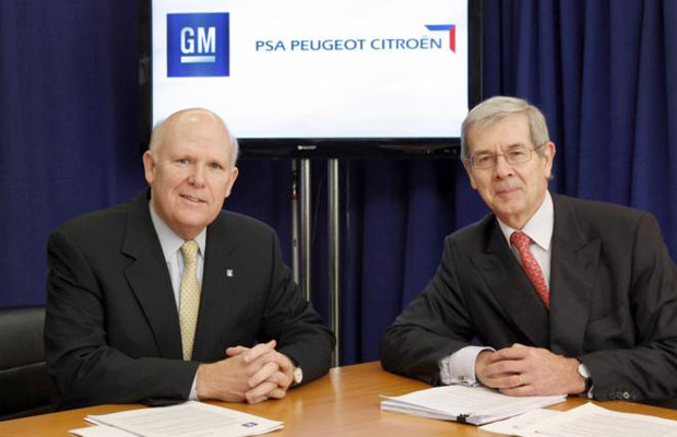 samenwerking GM en PSA