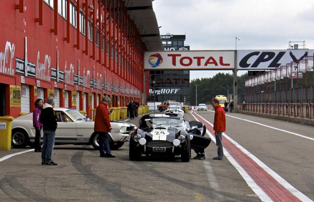 Circuit Zolder Pitlane