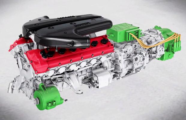 Ferrari HY KERS 2012