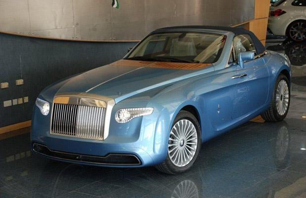 Pininfarina Hyperion Rolls Royce Phantom Drophead