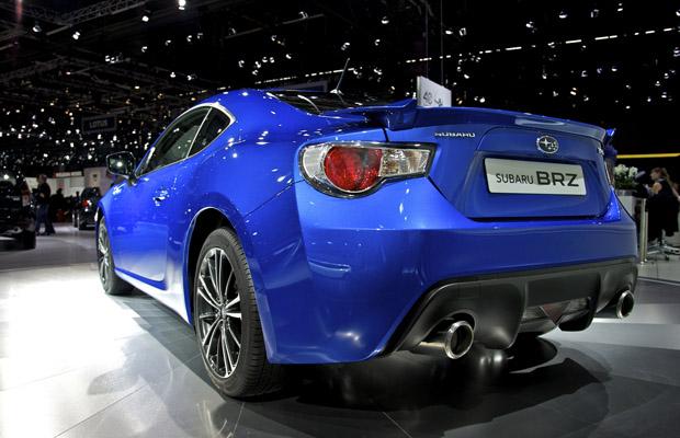 Subaru BRZ achterkant