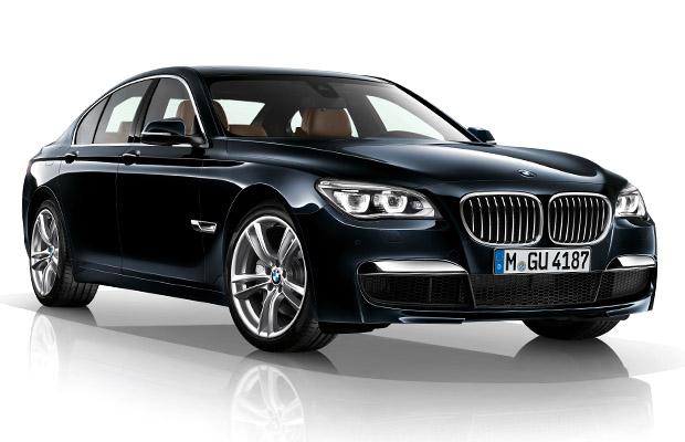 BMW 7-serie facelift 2012