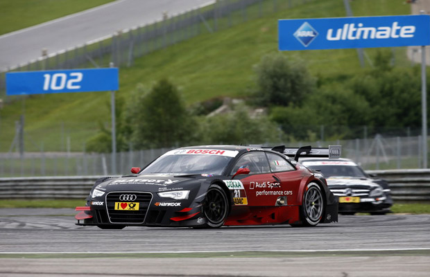 DTM 2012 Red Bull Ring Edoardo Mortara Playboy Audi A5 DTM