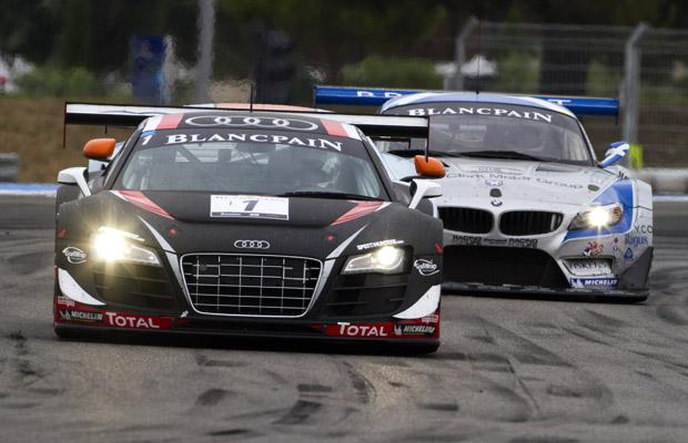 Paul Ricard HTTT Blancpain Endurance Series 2012 Audi Club Team WRT