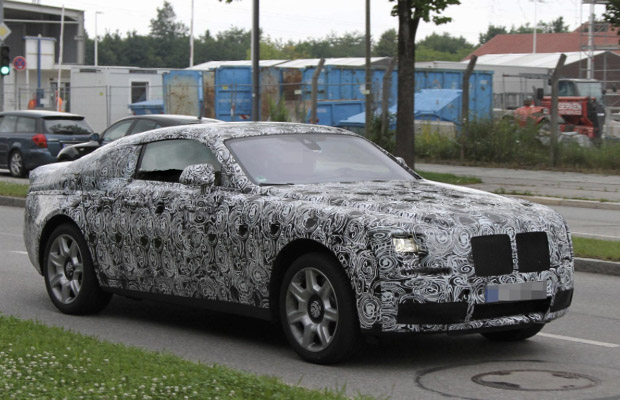 Rolls Royce Ghost Coupe Fastback testing spyshots