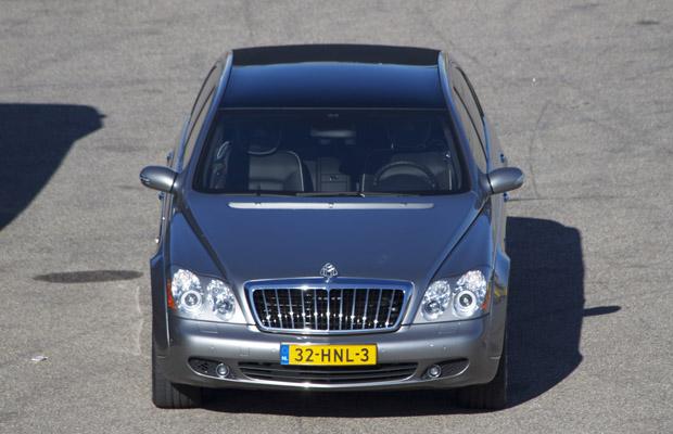 Maybach 62s Landaulet Wim Zegwaard veiling RM Auctions