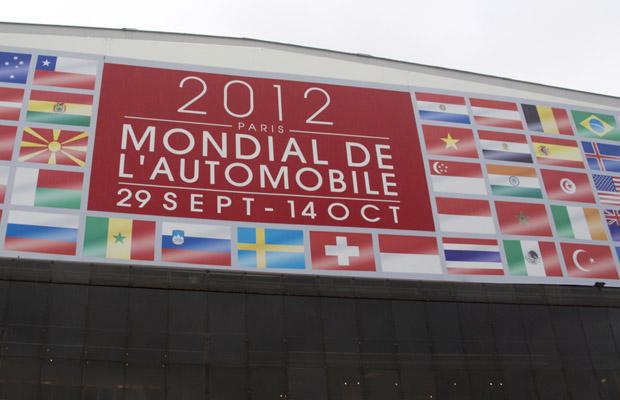 Mondial de l' automobile 2012 front