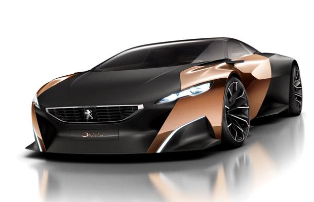 Peugeot Onyx Concept 2012 Paris Motor Show