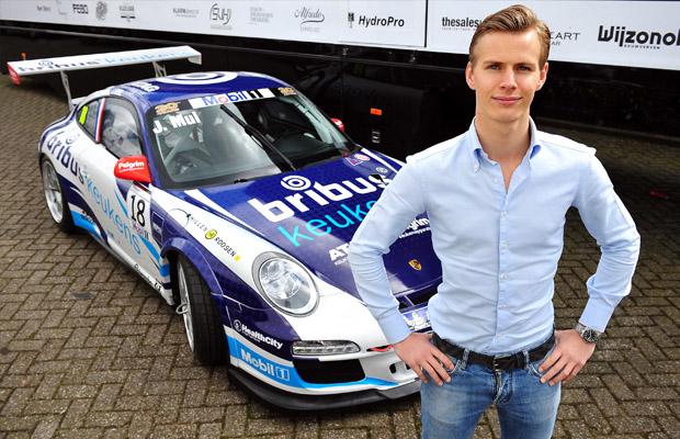 Porsche Supercup 2012 Jeroen Mul Bleekemolen Racing Team