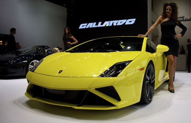 2013 Lamborghini Gallardo LP570-4 Parijs Motor Show