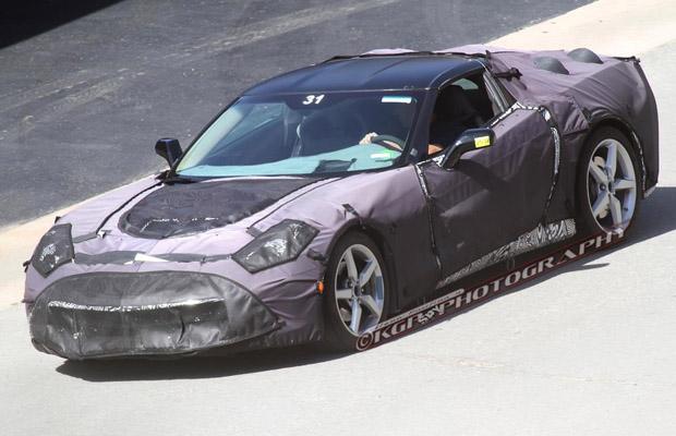 2014 Chevrolet Corvette C7 Spyshots