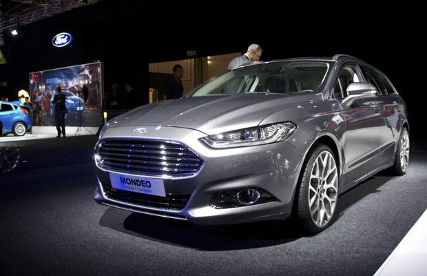 2014 Ford Mondeo Paris Motor Show 2012