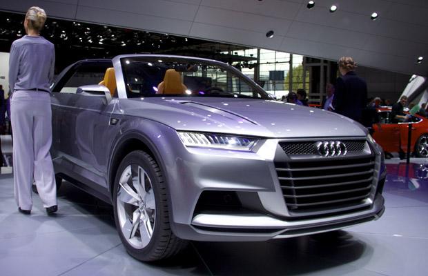 Audi Crosslane Coupe Concept CCC Paris Motorshow 2012