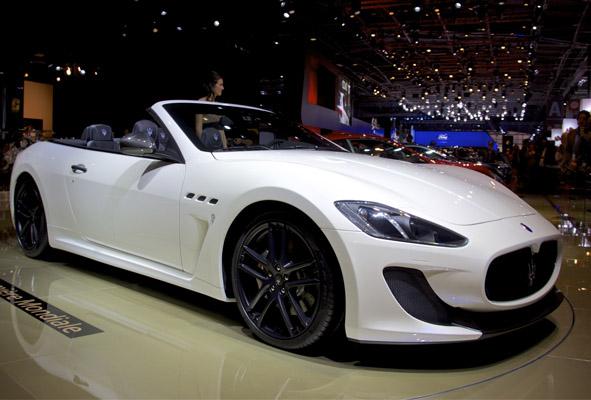 Maserati GranCabrio MC Paris Motor Show 2012