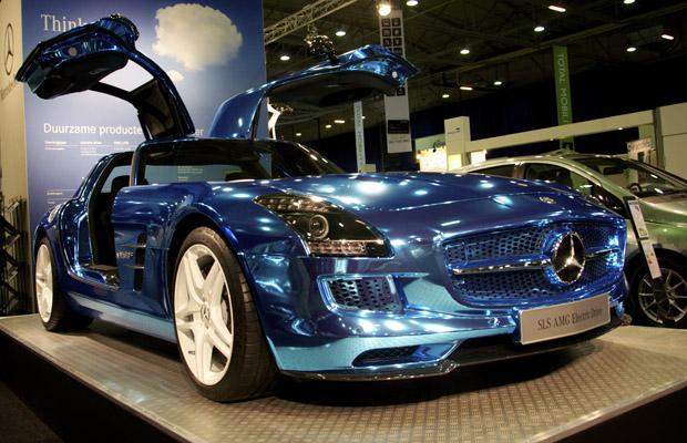 Mercedes-Benz SLS AMG Electric Drive EcoMobiel 2012