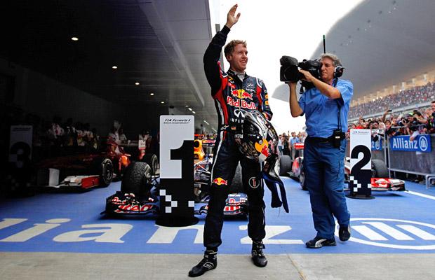 Sebastian Vettel GP India 2012 Buddh International circuit