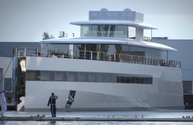 Steve Jobs Venus Yacht koninklijke de vries aalsmeer