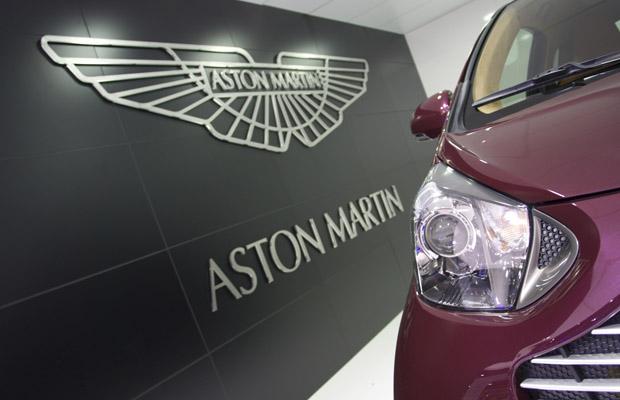 Aston Martin logo en Cygnet