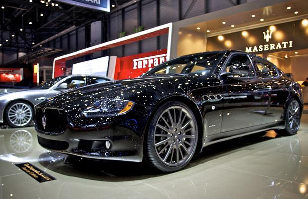 Maserati Quattroporte Geneva 2012