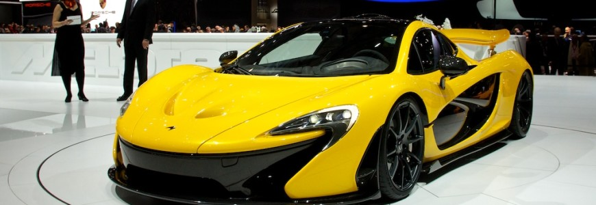 McLaren P1 press presentation Geneva Motor Show 2013