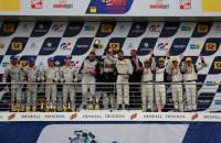 24h nurburgring 2013 podium Rowe Racing