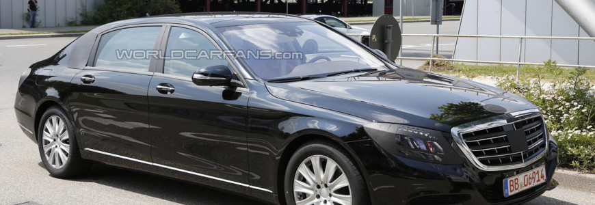 Mercedes-Benz S-klasse Pullman 2015 spyshot
