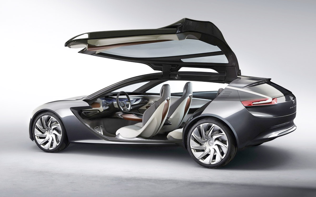 Opel Monza Concept 2014 design language