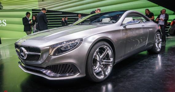 Mercedes-Benz S-klasse Coupe Concept IAA Frankfurt 2013-1