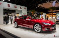Tesla Model S Brussel Autosalon 2014-1