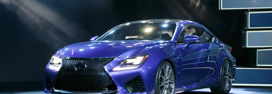 Lexus RC F Detroit Motor Show 2014