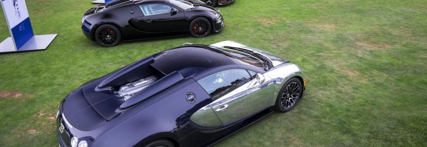 All Bugatti Legends at Pebble Beach 2014