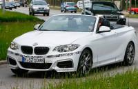 BMW 2-series cabriolet spyshot