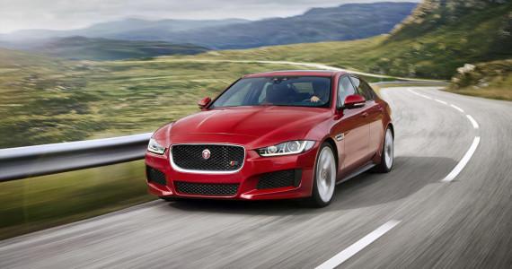 Jaguar XE S launch 2014 2015