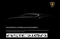 Lamborghini Asterion concept paris motor show 2014 mondial de l automobile