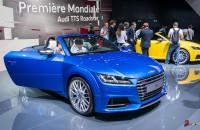 Audi TT Roadster Mondial de l'automobile 2014-1
