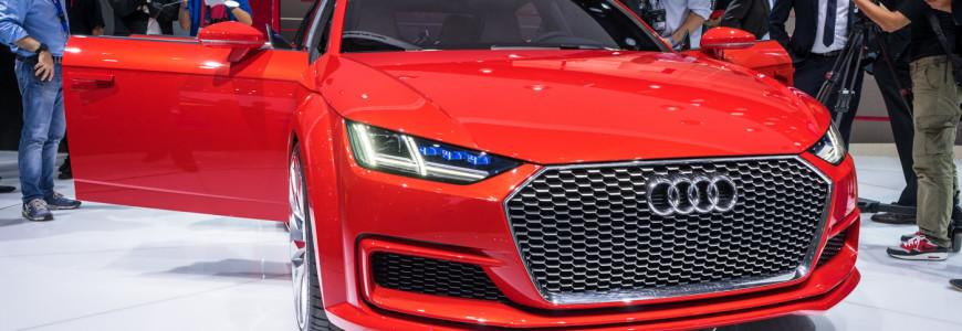 Audi TT Sportback Concept Mondial de l'automobile 2014-1